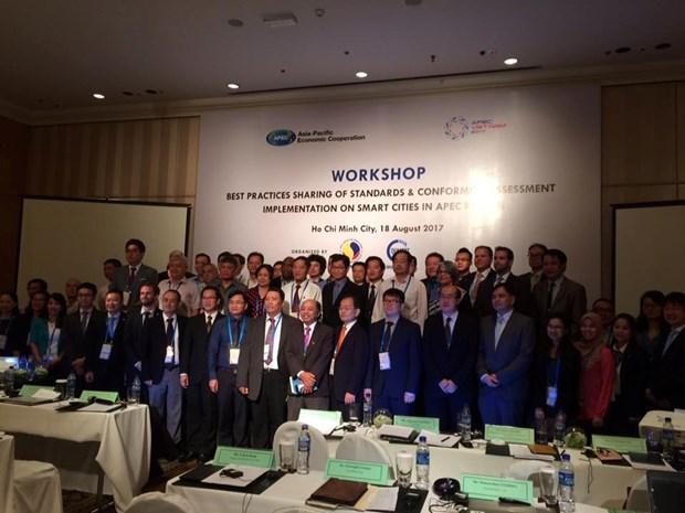 APEC: la ville intelligente au debat d'une reunion de la SOM3 a HCMV hinh anh 2