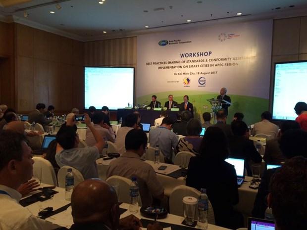 APEC: la ville intelligente au debat d'une reunion de la SOM3 a HCMV hinh anh 1
