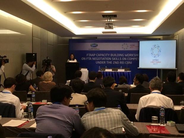 L'APEC met en avant les chapitres sur la concurrence dans les ALE et APE hinh anh 1