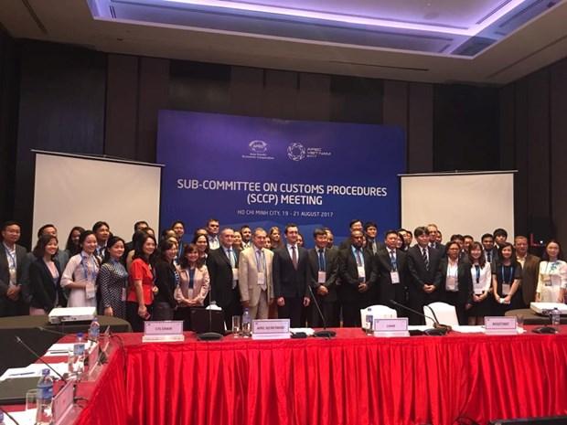 Le Sous-comite des procedures douanieres de l'APEC entame sa 2e reunion a Ho Chi Minh-Ville hinh anh 1