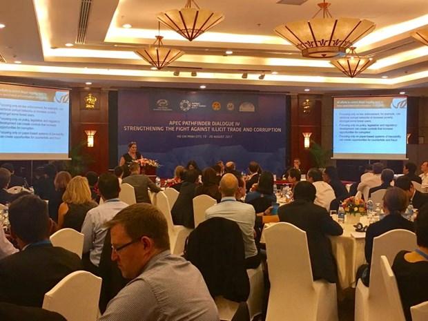 L'APEC dialogue sur la lutte contre la corruption et la contrebande hinh anh 1