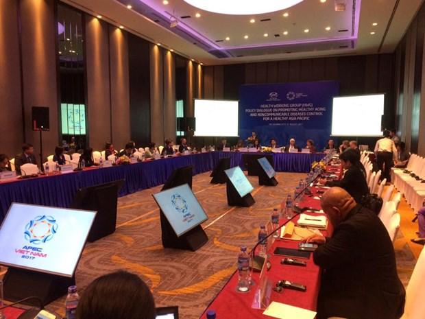 L'APEC œuvre pour la promotion du vieillissement en sante et la lutte contre la tuberculose hinh anh 2