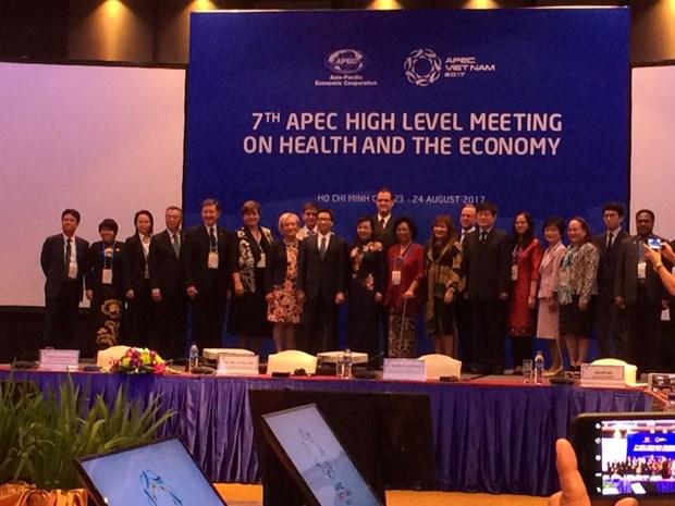 L'APEC souhaite multiplier les investissements dans la sante hinh anh 1