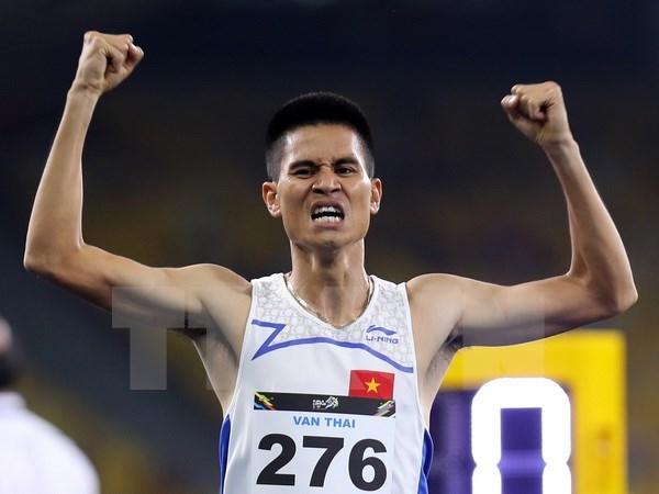 SEA Games 29 : carton plein pour le Vietnam sur le 1.500 metres hinh anh 1