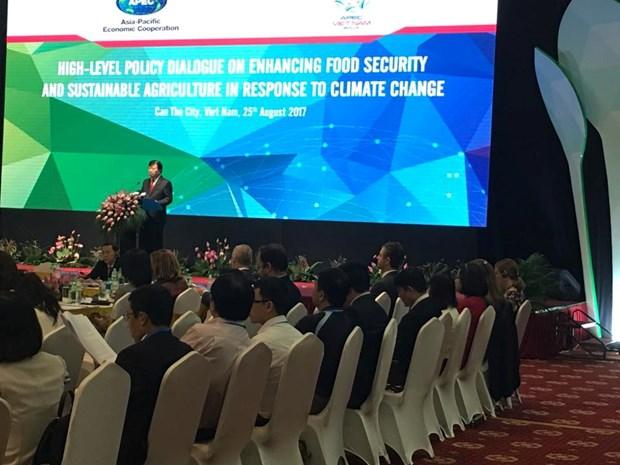APEC 2017: le Vietnam demande des efforts conjoints pour developper une agriculture durable hinh anh 1