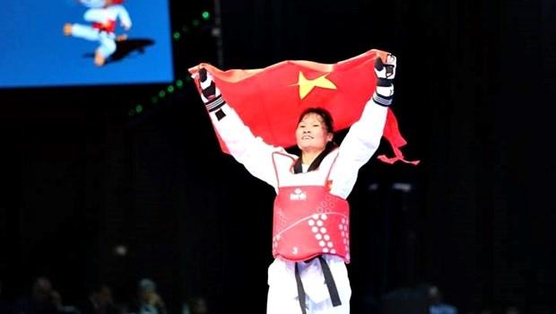 SEA Games 29 : deux nouvelles medailles d'or grace au taekwondo et judo hinh anh 1