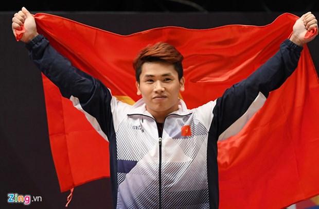 SEA Games 29 : deux nouvelles medailles d'or grace a l'halterophilie hinh anh 1