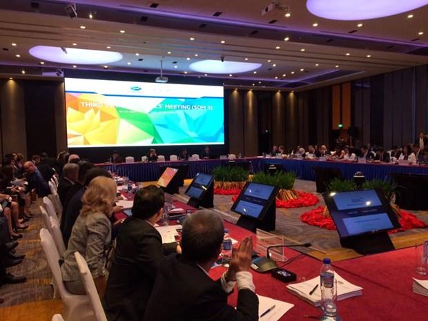 La troisieme reunion des hauts officiels (SOM3) de l'APEC debute a Ho Chi Minh-Ville hinh anh 1