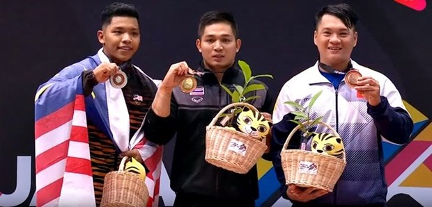 SEA Games : le Vietnam termine a 3e place avec 58 medailles d'or hinh anh 1
