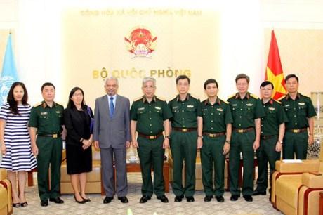 L'ONU reaffirme son engagement de soutenir le Vietnam dans les missions de maintien de la paix hinh anh 1