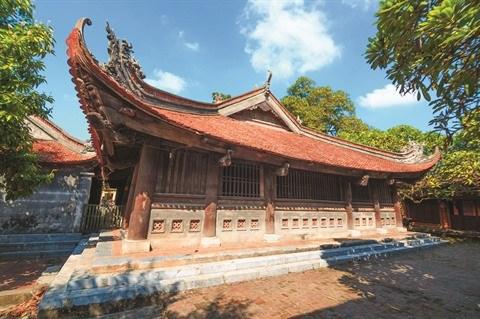 La maison commune de Tho Ha, un site impressionnant a Bac Giang hinh anh 1