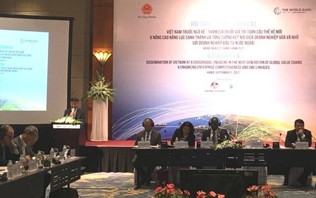 Le Vietnam peut beneficier d'interets des chaines de valeur globale hinh anh 1