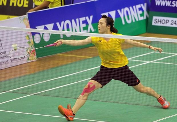 Badminton : fin du tournoi international Yonex-Sunrise Vietnam Open 2017 hinh anh 1