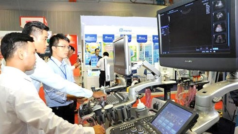 Bientot l'exposition internationale de medecine du Vietnam hinh anh 1