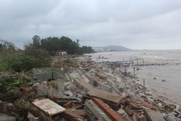 Typhon Doksuri : aide de la Croix-Rouge vietnamienne pour les sinistres du Centre hinh anh 1