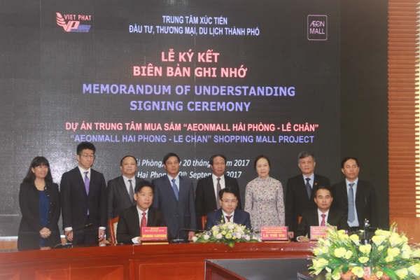 Aeon Mall Vietnam accelerera son projet a Hai Phong hinh anh 1