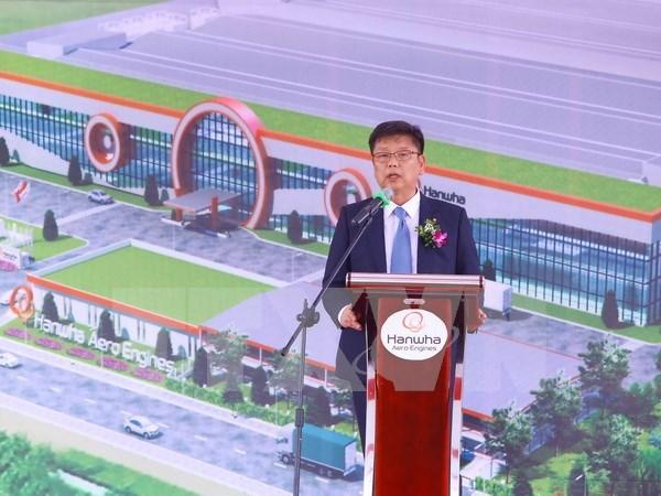 Mise en chantier de la premiere usine de fabrication des equipements de moteur d'avion au VIetnam hinh anh 1
