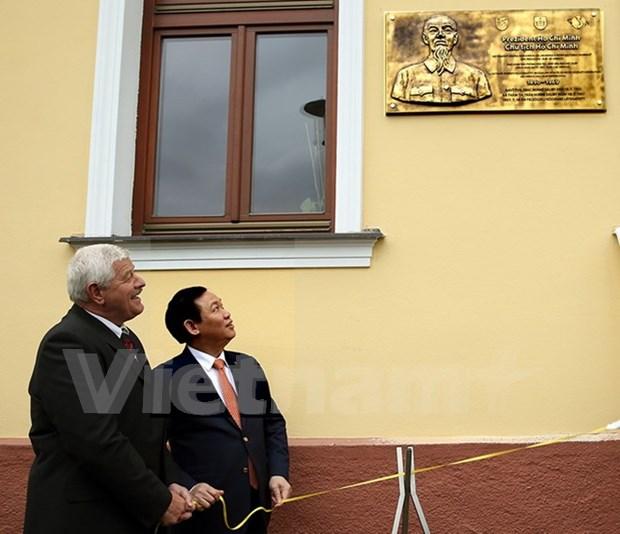 Le vice-Premier ministre Vuong Dinh Hue en Slovaquie hinh anh 2