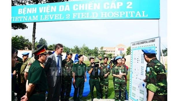 Cloture des preparatifs pour les operations de maintien de la paix de l'ONU hinh anh 1