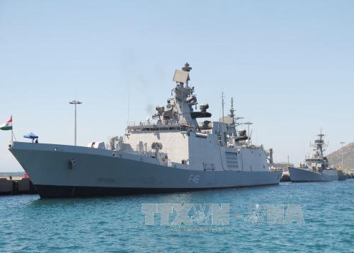 Deux navire de la Marine indienne a Hai Phong hinh anh 1