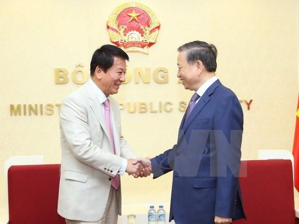 Le ministre de la Securite publique exhorte a renforcer ses liens avec le Japon, la Turquie hinh anh 1