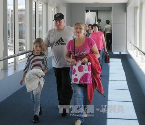 Vers une affluence record des touristes russes au Vietnam cette annee hinh anh 1