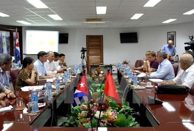 Syndicalisme: Vietnam et Cuba conviennent de resserrer leur cooperation hinh anh 1