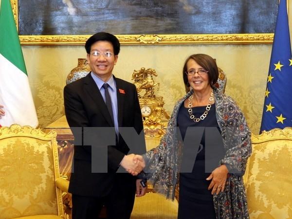 Le Vietnam et l'Italie stimulent la cooperation legislative hinh anh 1