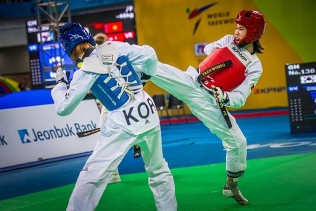 Taekwondo : Kim Tuyen remporte une medaille d'argent aux Grand Prix Series 2017 hinh anh 1