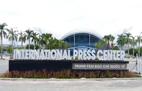 Le Centre de presse de Da Nang est pret pour la Semaine de l'APEC 2017 hinh anh 1