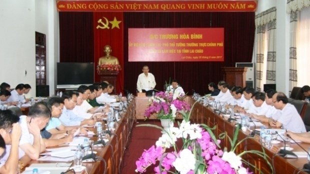 Lai Chau appelee a moderniser ses infrastructures hinh anh 1