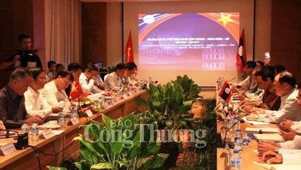 Vietnam - Laos: renforcement de la cooperation dans l'energie, l'industrie et l'exploitation miniere hinh anh 1