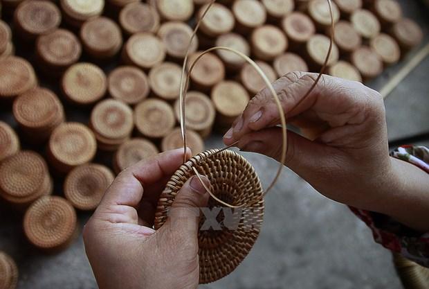 Les produits de la vannerie vietnamiens tres apprecies en UE hinh anh 1