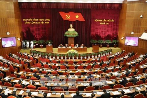 Ouverture du 6e Plenum du Comite central du PCV (12e mandat) hinh anh 1