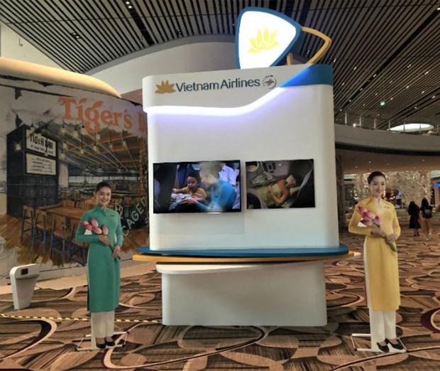 Vietnam Airlines exploitera l'aerogare la plus moderne de Singapour hinh anh 1