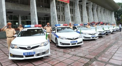 APEC 2017: 200 policiers de Hanoi mobilises pour la Semaine de l'APEC hinh anh 1