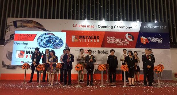 Plus de 500 entreprises a l'exposition Metalex Vietnam 2017 hinh anh 1