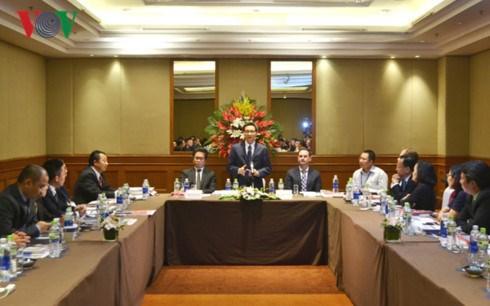 Vu Duc Dam rencontre le Conseil d'entreprises pour le developpement durable hinh anh 1