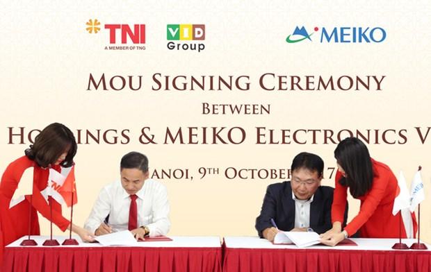 Le groupe japonais Meiko lance son 3e projet au Vietnam hinh anh 1