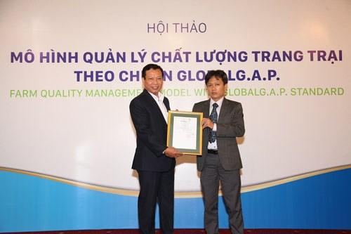 La premiere ferme d'elevage porcin aux normes Global G.A.P au Vietnam hinh anh 1