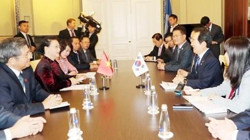 Le Vietnam renforce sa cooperation legislative la Republique de Coree hinh anh 1