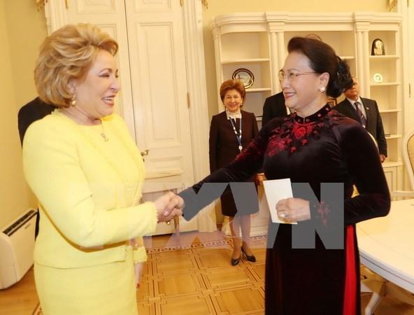 Vietnam-Russie: Renforcement de la cooperation entre les deux organes legislatifs hinh anh 1