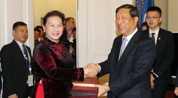 La cooperation legislative est un pilier des relations vietnamo-chinoises hinh anh 1