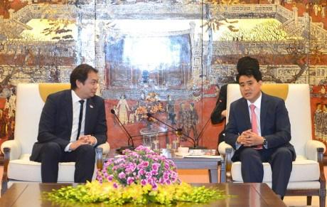 Hanoi et Singapour cooperent dans les technologies numeriques hinh anh 1