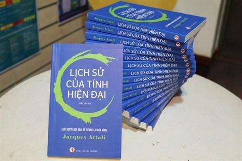 Publication en vietnamien du livre Histoire de la modernite de Jacques Attali hinh anh 1