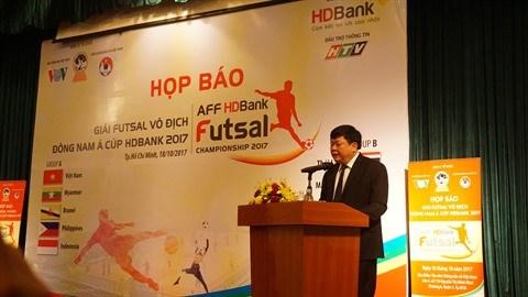 Championnat d'Asie du Sud-Est de futsal : le Vietnam vise le titre hinh anh 1