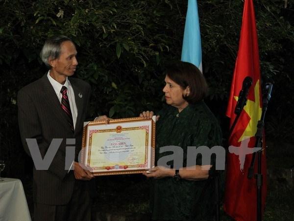 L'Institut culturel Argentine-Vietnam, une passerelle d'amitie entre les deux pays hinh anh 1