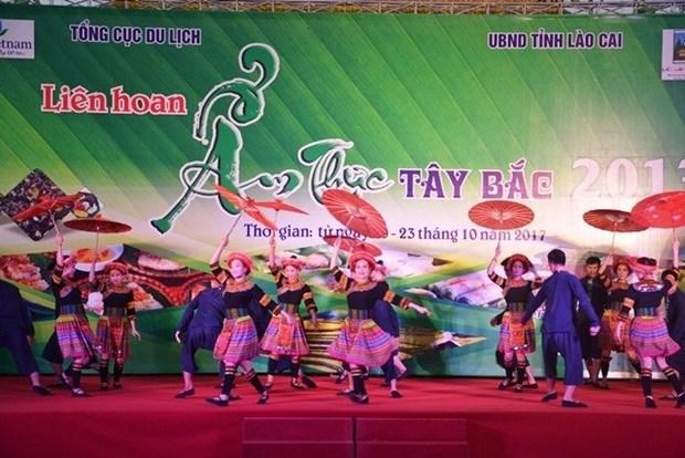 Festival de la gastronomie de la region Nord-Ouest 2017 a Lao Cai hinh anh 1