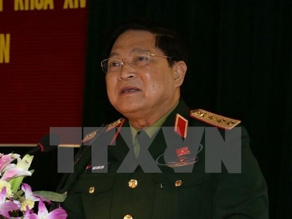 Le Vietnam assiste a la 11eme ADMM aux Philippines hinh anh 1