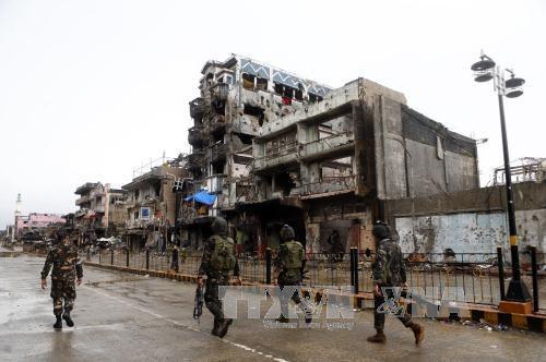Les Philippines annoncent la fin de la bataille de Marawi hinh anh 1